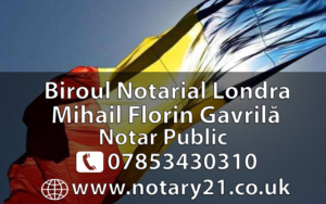Notar Roman in Londra